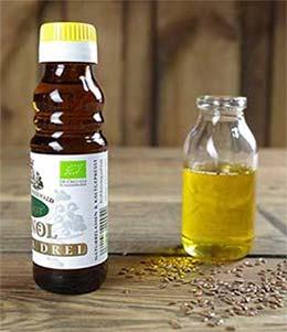 Bio Leinöl 100ml bei Spreewaldkiste.de