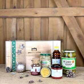 Spreewaldkiste süße Weihnachtsbox