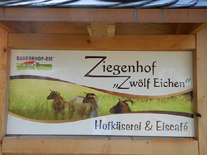 """Meck-Café im Ziegenhof """"Zwölf Eichen"""""""