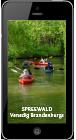 Spreewald App auf dem Smartphone