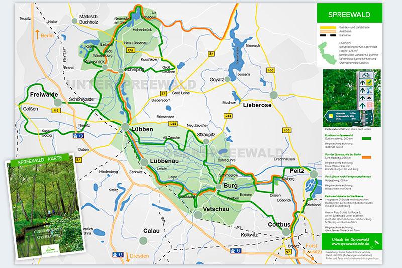 Spreewald Anreise Mit Auto Und Bahn Karte Und Tipps