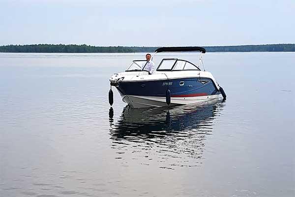Motorboot des Spreewald Resort