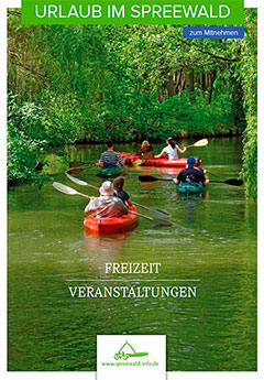 Broschüre Urlaub im Spreewald