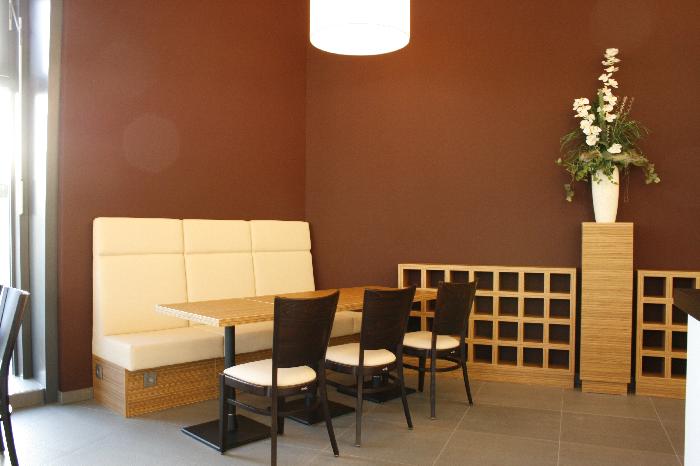 Gemütlicher Sitzbereich