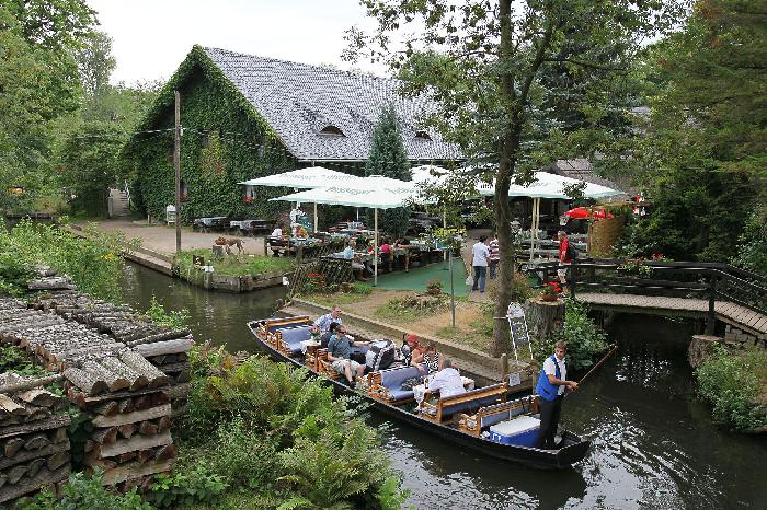 Das Gasthaus im Spreewalddorf Lehde