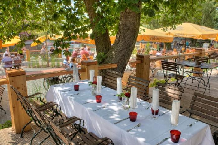 Strandcafé Lübben - Restaurant & Terrasse