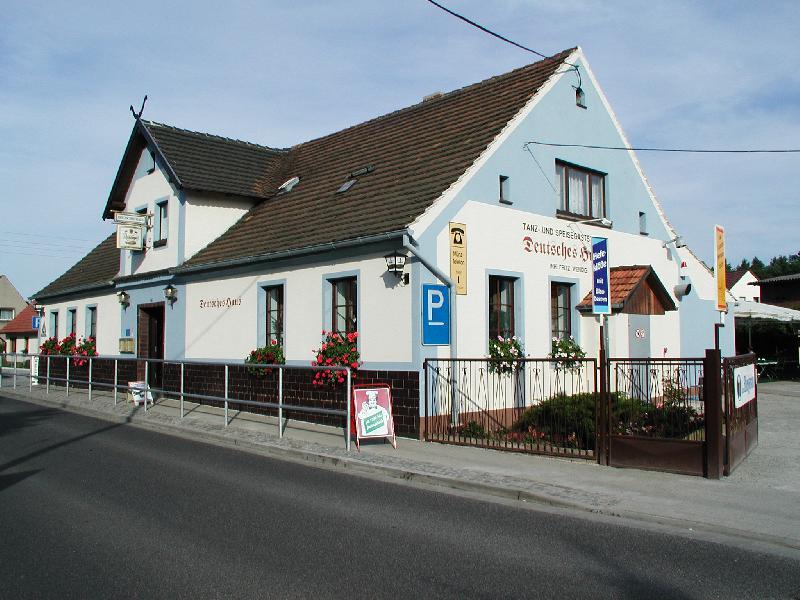 """Gaststätte """"Deutsches Haus"""" Burg Spreewald"""