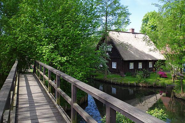 Lehde im Spreewald