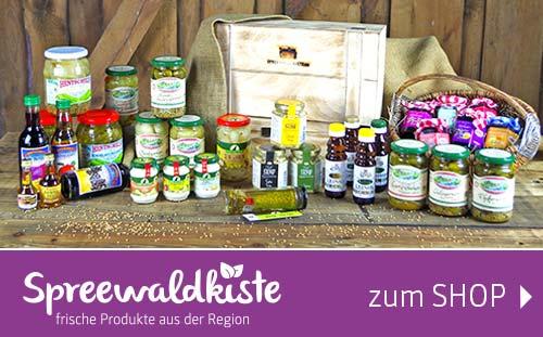 Spreewaldkiste: Online Shop für frische, regionale Lebensmittel